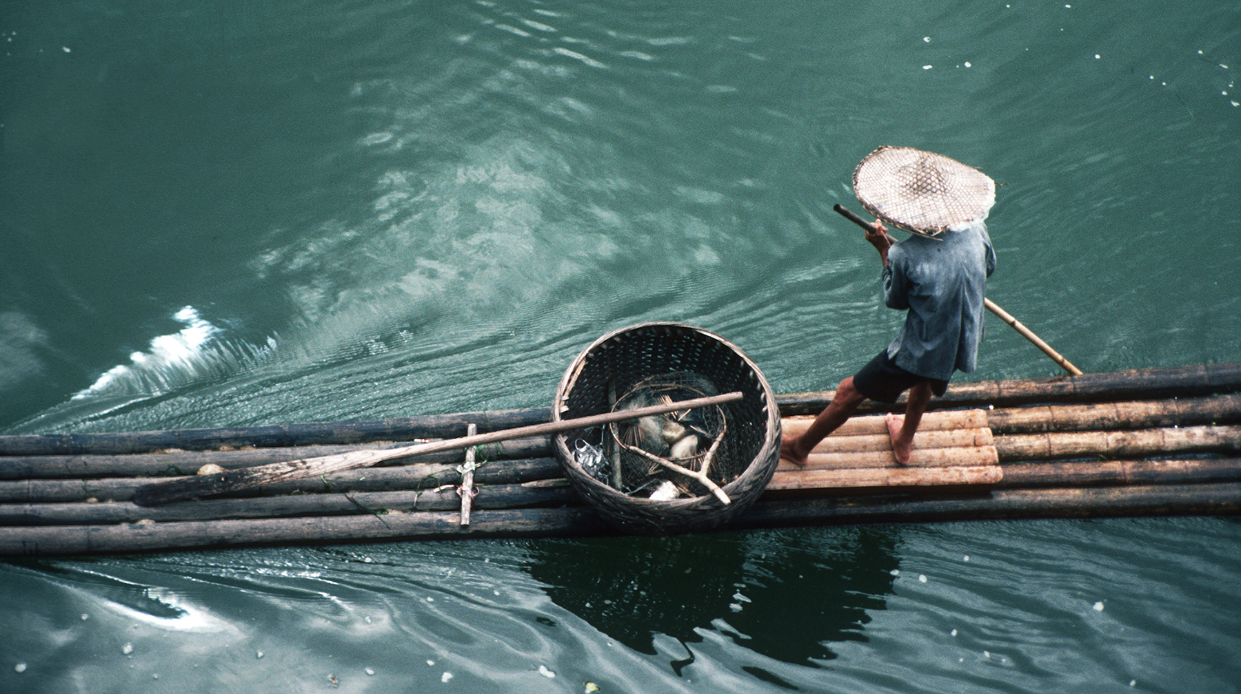 Sonia Costa_The raft, Guilin China