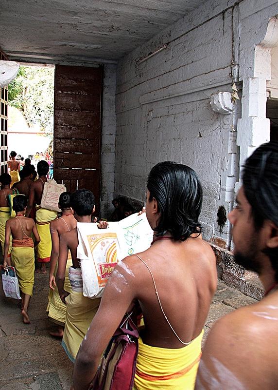 Vedic lessons. India © Sonia Costa