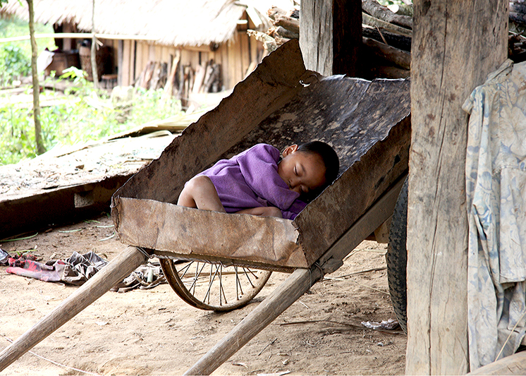 Dreams – Akka village Laos