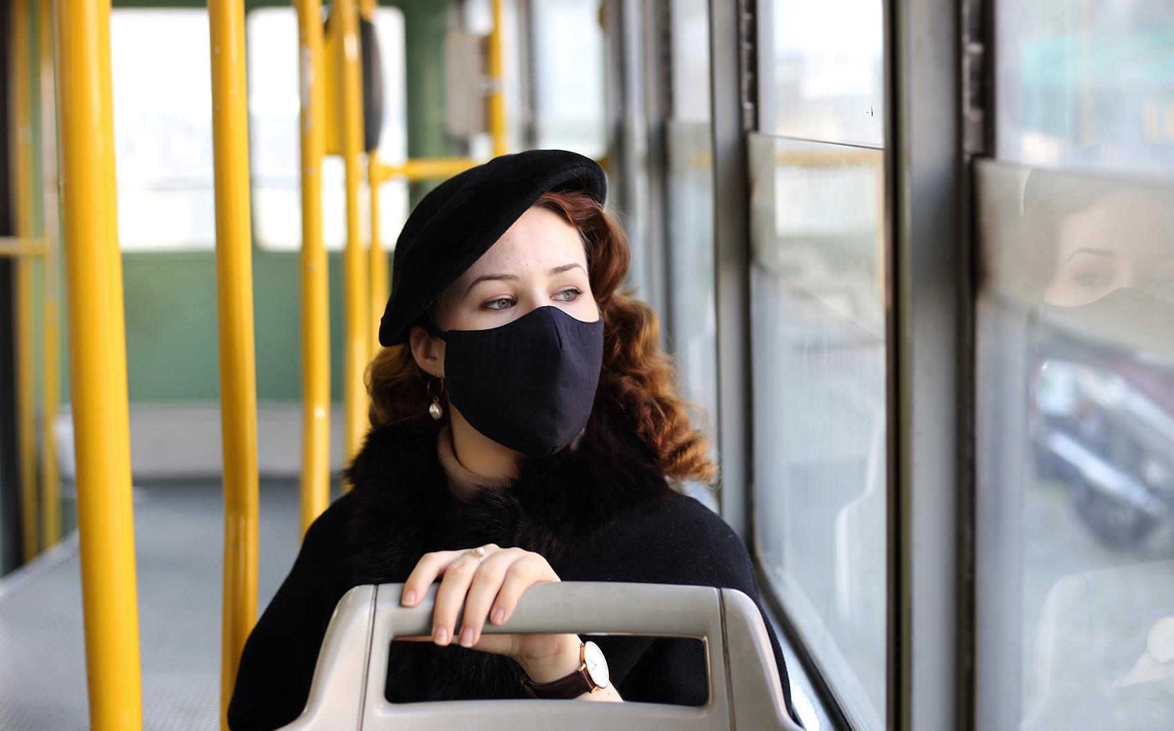 MISURE GIUSTE Sonia Costa _ The black mask