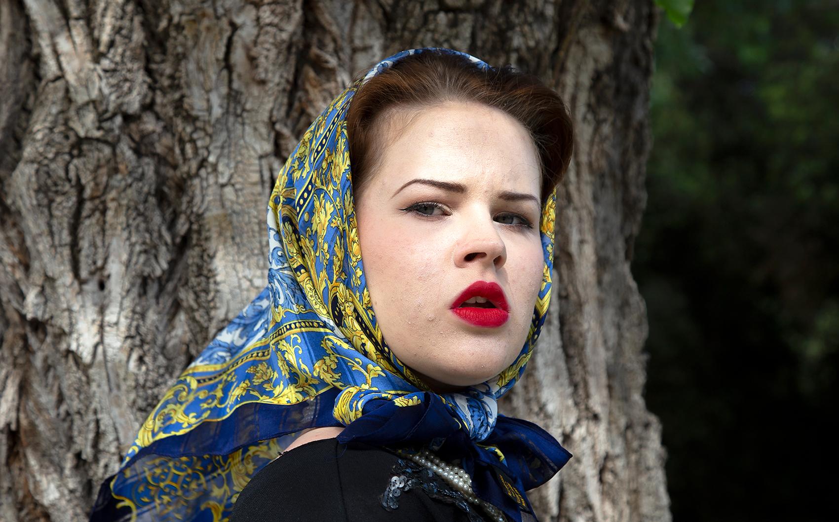 MG Sonia Costa _ Blue Headscarf