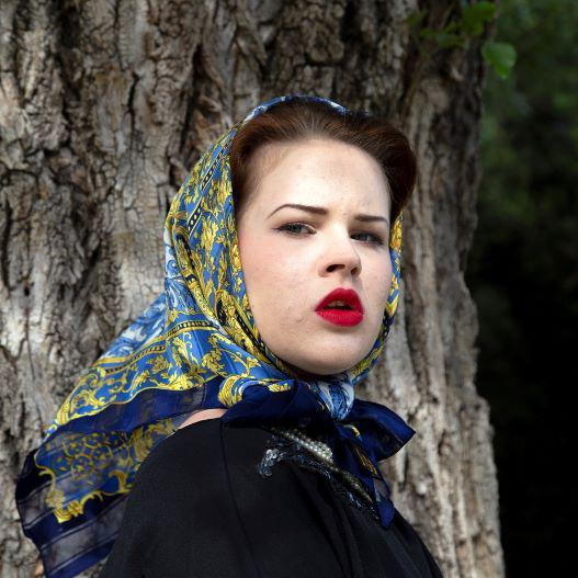 copertina Sonia Costa _ Blue Headscarf